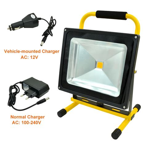 emergency light for home use mengsled mengs 174 50w rechargeable led flood light 900lm