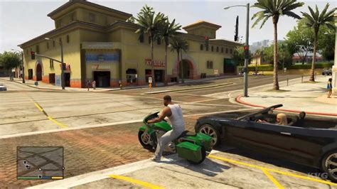 Motorrad Tuning Gta 5 by Grand Theft Auto 5 Franklin Motorcycle Tuning Riding
