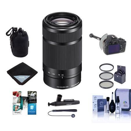 Jual Lensa Sony Nex 55 210mm sony 55 210mm f 4 5 6 3 oss e mount nex lens black w