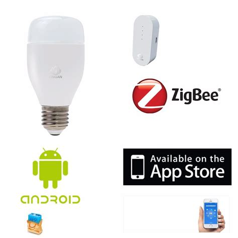 home automation app wireless smart zigbee rgb led