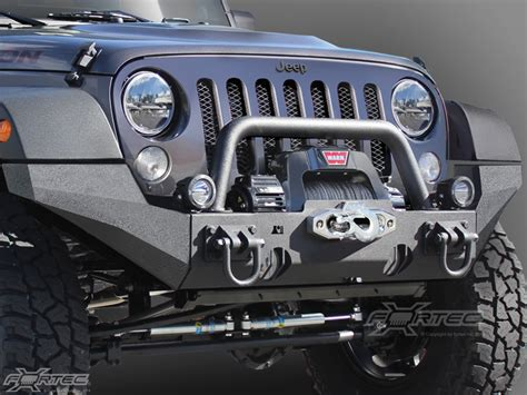 rugged ridge xhd front bumper jk front bumpers rugged ridge om 11540 24 rugged ridge 174 xhd front bumper high clearance ends