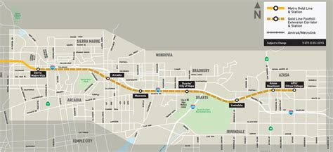 metro gold line map gold line foothill extension preview ride from pasadena to azusa streetsblog los angeles
