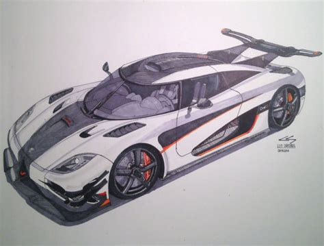 koenigsegg one drawing items similar to koenigsegg one 1 drawing on etsy