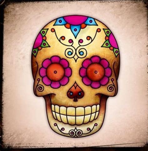 tattoo old school teschio teschio messicano teschi pinterest
