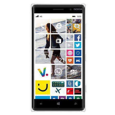 blanc mobili nokia lumia 830 blanc mobile smartphone nokia sur ldlc