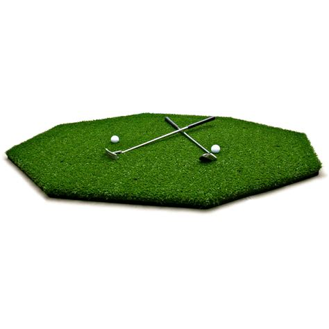 Golf Mat by Ultra Fairway Mat 5 X5 Octagon Synlawn Golf