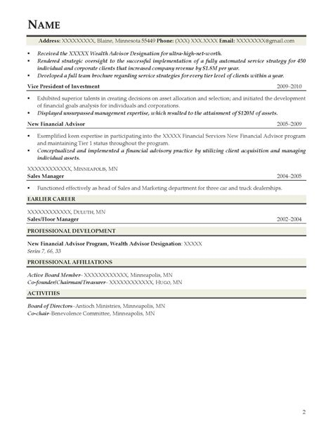 Executive Mba Useful Or Not by Attractive Sle Resume For Executive Mba Ideas Exle