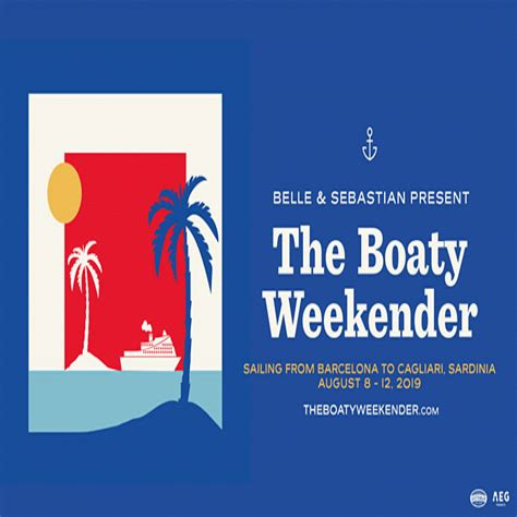 the boaty weekender belle and sebastian announce quot the boaty weekender