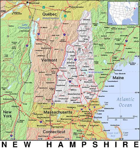 map new hshire and maine images free domain map of maine memes