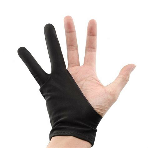 Drawing Glove by Free Size Artist Drawing Glove For Graphic Tablet 610