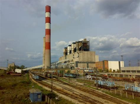 Tesla Power Plant Tpp Nikola Tesla Thermal Electrical Power Station