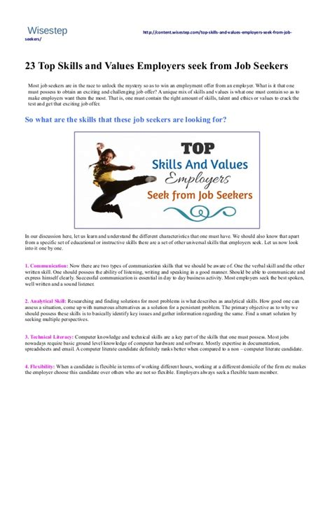 do you have the top skills employers want