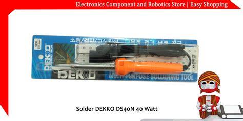 Diskon Solder Masda 40 Watt Ds 40 jual solder dekko ds40n 40 watt