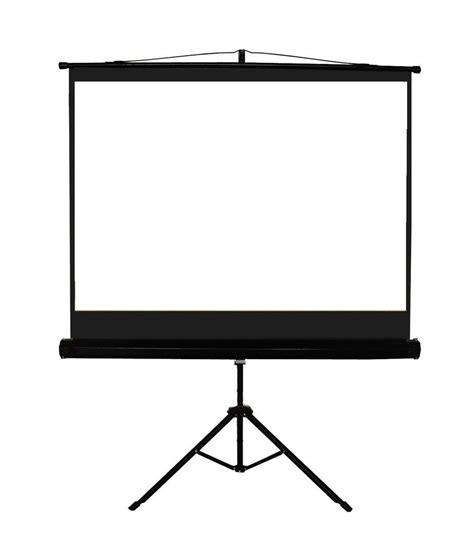 buy nechams tripod projector screen ft  ft