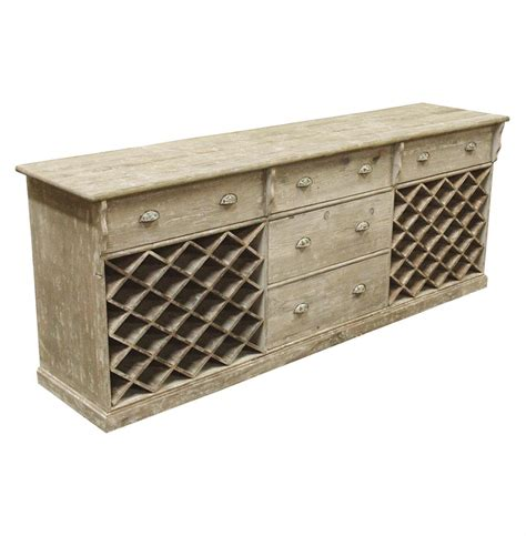 Wine Sideboard country rustic large wine cabinet sideboard kathy kuo home