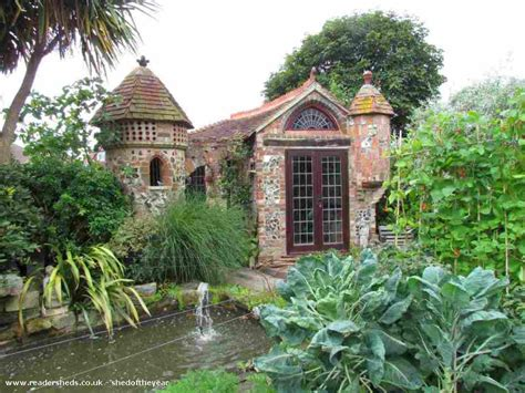 Uk Shed Of The Year by Goring Folly Timothy Blewitt Garden