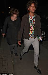 adele on ex boyfriend pacing pavements mika hits the town with beautiful big