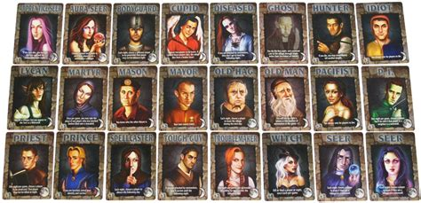 ultimate werewolf printable cards ultimate werewolf oxford games