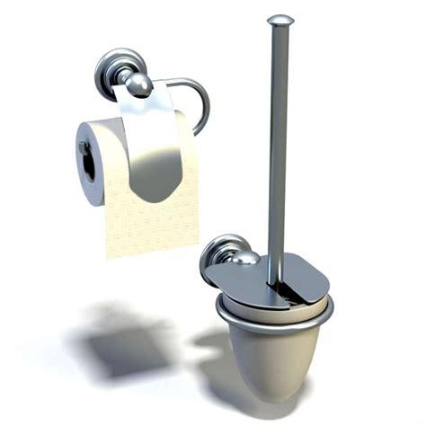 Bathroom Gadgets by Bathroom Gadgets Tissue Holder 3d Model Cgtrader