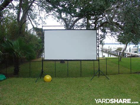 landscaping ideas outdoor theater yardsharecom