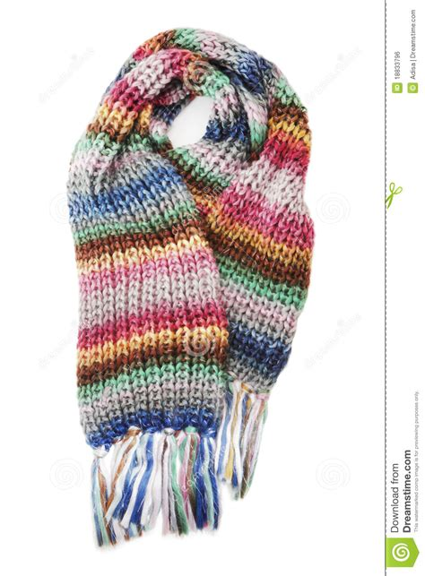 wool scarf royalty free stock image image 18833796