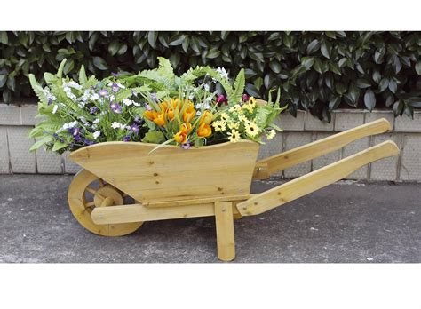 Wooden Wheelbarrows Planters by Small Wooden Wheelbarrow Uk Plans Diy Free How To