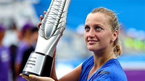 Petras Lopsided by Kvitova Tops Eugenie Bouchard To Win Wuhan Open