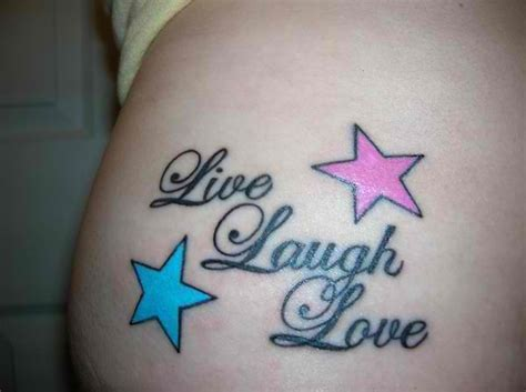tattoo quotes with stars tattoo quotes live laugh love with stars tattoo models