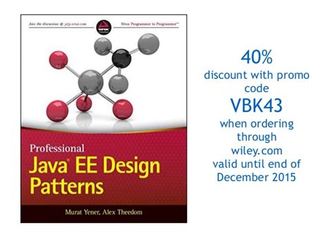 patterns in java wiley java ee revisits gof design patterns