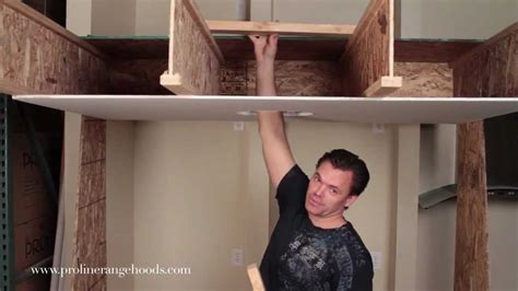 Installing Kitchen Cabinets Video how to install weight bearing ceiling support