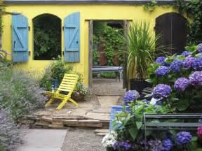 mediterranean inspired courtyards outdoor spaces patio ideas decks gardens hgtv