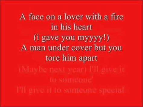 last christmas lyrics printable version wham last christmas lyrics full version youtube