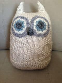 Bee And Vee Big 7 Owl purl bee s big snowy owl iknits