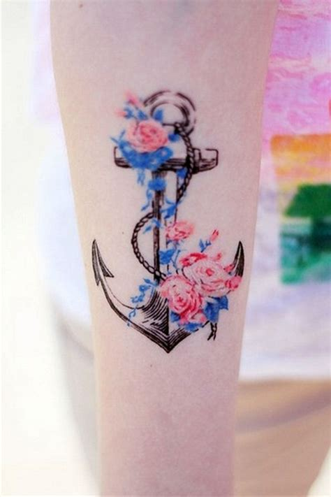girl anchor tattoos anchor tattoos ideas for cool tattoos bonbaden