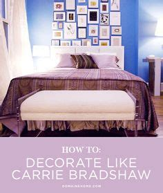 carrie bradshaw bedroom 1000 ideas about city apartment decor on pinterest