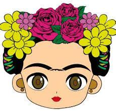 libro rivera 16 art stickers resultado de imagen para frida kahlo dibujo caricatura