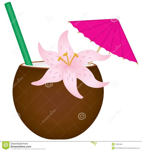 umbrella drink svg tropical drink stock vector illustration of umbrella