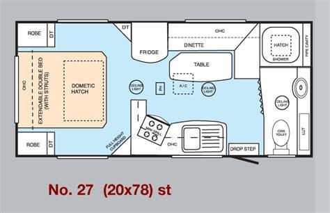 Dealership Floor Plan millard caravans shower van layouts