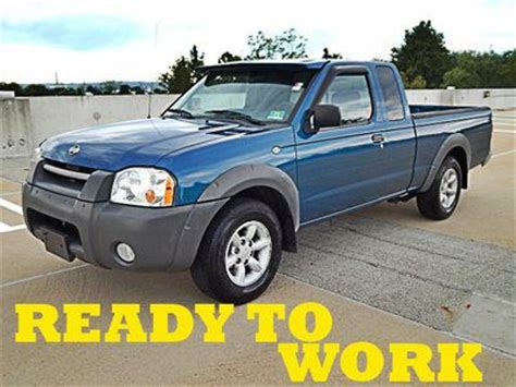 free car manuals to download 2001 nissan frontier seat position control purchase used 2001 nissan frontier xe 2wd manual ready to work nice clean no reserve in