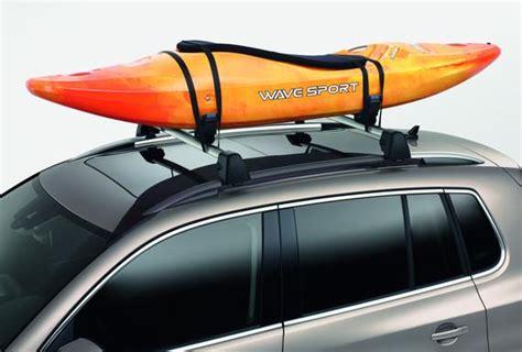 volkswagen jetta kayak holder attachment black boat ka genuine volkswagen