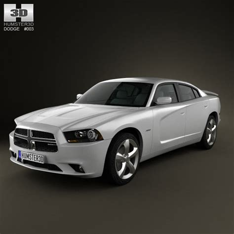 charger models dodge charger lx 2011 3d model humster3d