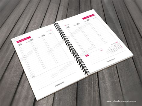 daily planner template indesign free daily planner template indesign printable daily planner