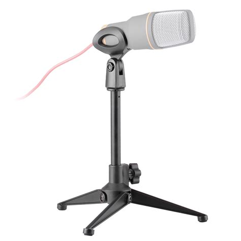 helpful lightweight microphone stand tabletop mic stand