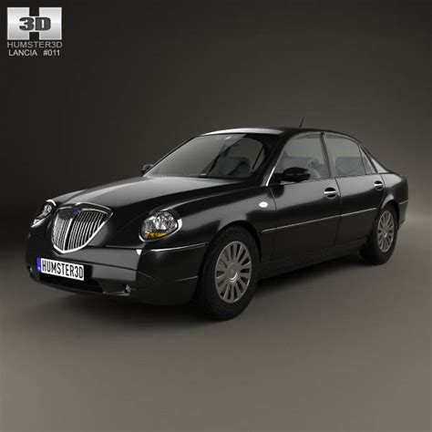 Lancia Models Lancia Thesis 2002 3d Model Humster3d