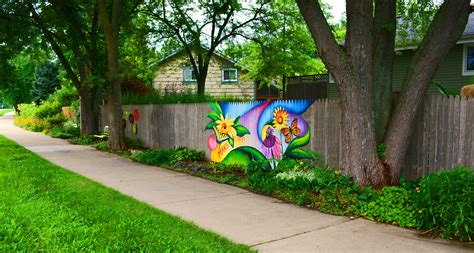The Graffiti Experiment Please Help Save My Fence Garden Mural Ideas