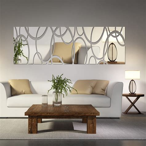 diy living room wall art mirror wall decor art d diy wall stickers living room