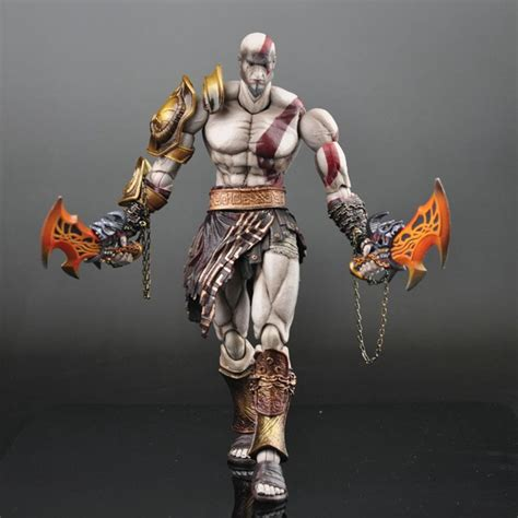 Play Arts Kratos Gow 3 Play Arts God Of War 3 Kratos Ghost Of Sparta Pa 28cm