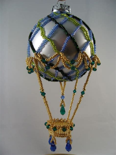 542 best beaded christmas ornaments images on pinterest