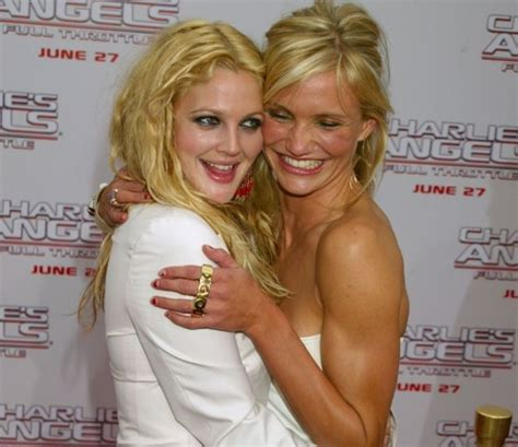 Cameron Diaz Drew Barrymoore Bff by Drew Barrymore Turns 40 From Child To