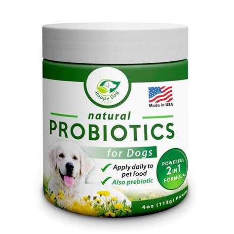 probiotics for puppies with diarrhea probiotics for dogs best for diarrhea upset stomach gas allergies bad breat